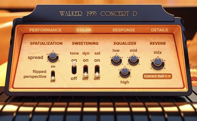 Walker 1955 Concert D